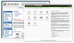 Joomla screenshots