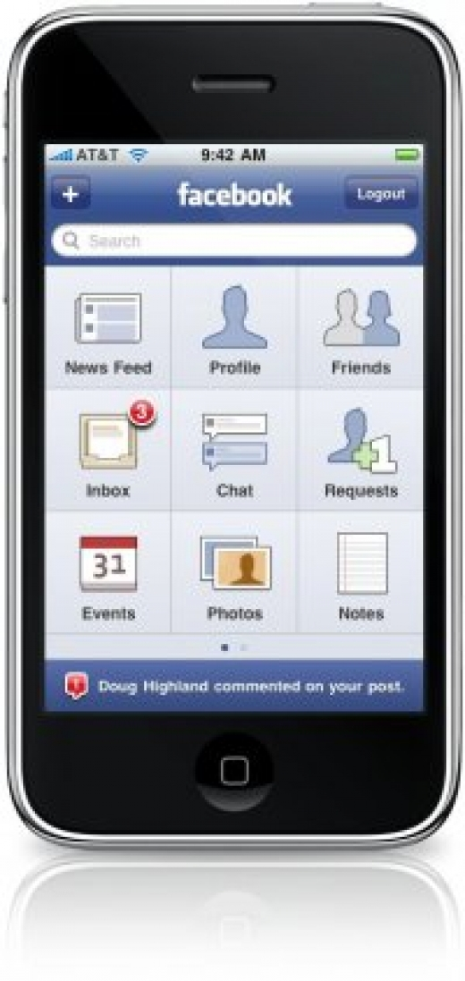 Nå kan du laste ned ny Facebook iPhone app